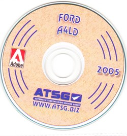 Ford A4LD Automatic Transmission Rebuild Manual CD-ROM