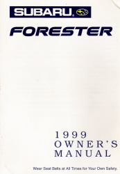 1999 Subaru Forester Owner's Manual