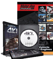 ASE Test Prep DVD & Manual -- Automobile A9, Light Vehicle Diesel Engines