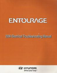 2006 - 2007 Hyundai Entourage Factory Electrical Troubleshooting Manual - ETM