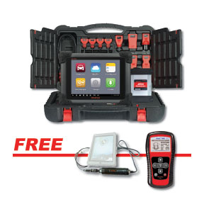 PROMO- Autel MS908PRO with MV105 5.5mm Videoscope + TS401 MaxiTPMS TPMS Diagnostic and Service Test Tool