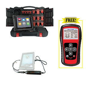PROMO- Autel MS908 with MV105 5.5mm Videoscope + TS401 MaxiTPMS TPMS Diagnostic and Service Test Tool
