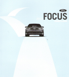 2010 Ford Focus Factory Owner's Manual with Case