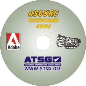 Dodge, Isuzu, Mitsubishi AS68RC ATSG Technicians Diagnostic Guide- Mini CD-ROM
