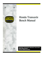 Honda Transaxle ATRA Bench Manual