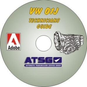 Audi 01J CVT Technicians Diagnostic Guide- Mini CD