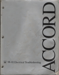 1998-2001 Honda Accord Electrical Troubleshooting Manual