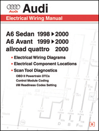 1998 - 2000 Audi A6  Electrical Wiring Manual