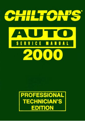 1996 - 2000 Chilton's Auto Service Manual, Shop Edition