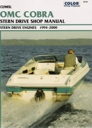 1994 - 2000 OMC Cobra SX & DP-S Duo Prop Stern Drive Clymer Repair Manual