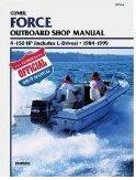 1984 - 1999 Force 4-150 HP Clymer Outboard Repair Manual