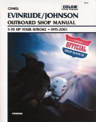 1995 - 2001 Evinrude / Johnson 5 - 70 HP Four-Stroke Clymer Outboard Repair Manual