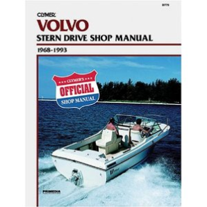 1968 - 1993 Volvo Stern Drive Clymer Shop Manual