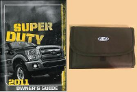 2012 Ford F250, F350, F450 & F550 Truck Factory Owner's Portfolio