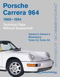 1989 - 1994 Porsche 911 Carrera (964) Technical Data Manual