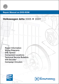 2005 - 2009 Volkswagen Jetta Factory Repair Manual on DVD-ROM