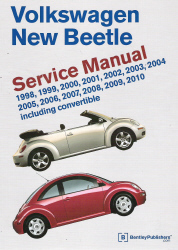 1998 - 2010 Volkswagen New Beetle Factory Service Manual