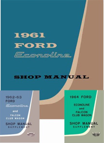 1961 - 1964 Ford Econoline Factory Shop Manual CD-ROM