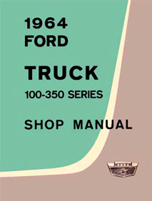 1964 Ford F-100 - F-350 Truck Factory Shop Manual CD-ROM