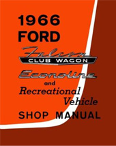 1966 Ford Econoline Factory Shop Manual CD-ROM