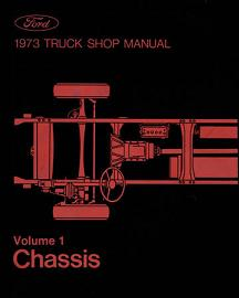 1973 Ford Truck Factory Shop Manual CD-ROM