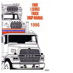 1986 Ford L-Series Truck Factory Shop Manual CD-Rom