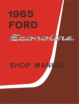1965 Ford Econoline Factory Shop Manual CD-ROM