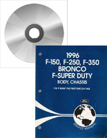 1996 Ford Bronco, F150, F250, F350 & F-Super Duty Service Manual on CD-ROM