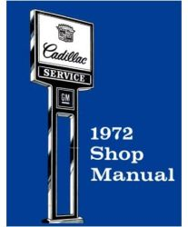 1972 Cadillac Factory Service Manual and Fisher Body Manual on CD-ROM