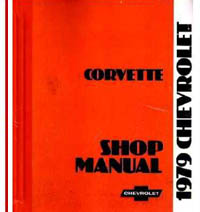 1979 Chevrolet Corvette Factory Shop Manual on CD-ROM
