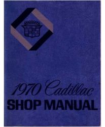 1970 Cadillac Factory Service Manual and Fisher Body Manual on CD-ROM