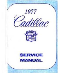 1977 - 1978 Cadillac Factory Service Manual and Fisher Body Manual on CD-ROM