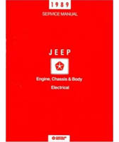 1989 Jeep Factory Shop Manual on CD-ROM - All Models