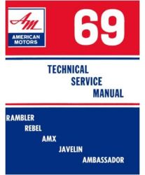 1969 AMC (All Models) Factory Service Manual on CD-ROM