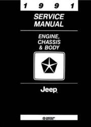 1991 Jeep (All Models) Factory Service Manual on CD-ROM