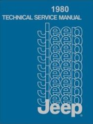 1980 Jeep (All Models) Factory Service Manual on CD-ROM
