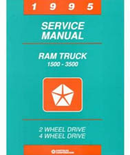 1995 Dodge Ram Truck Factory Shop Manual on CD-ROM