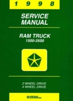 1998 Dodge Ram Truck Factory Service Manual on CD-ROM