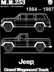 1984 - 1987 Jeep Grand Wagoneer and Truck Factory Service Manual on CD-ROM