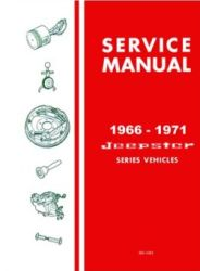 1966 - 1971 Jeep Jeepster Factory Service Manual on CD-ROM