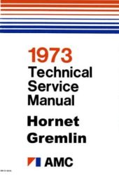 1973 AMC (All Models) Factory Service Manual on CD-ROM