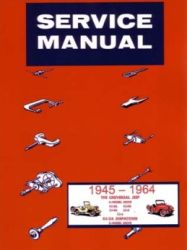 1945 - 1964 Jeep CJ and Dispatcher Factory Service Manual on CD-ROM