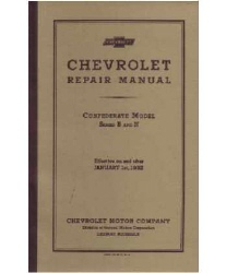 1932 Chevrolet Car and Truck Full Line Factory Chassis & Electrical Service Manual on CD-ROM