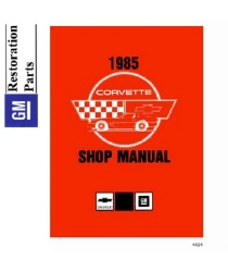1985 Chevrolet Corvette Factory Body, Chassis & Electrical Service Manual on CD-ROM