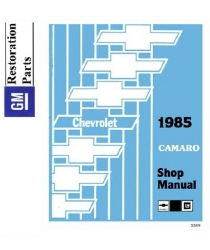 1985 Chevrolet Camaro Factory Body, Chassis & Electrical Service Manual on CD-ROM