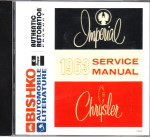 1963 Chrysler Imperial Factory Body, Chassis & Electrical Service Manual on CD-ROM