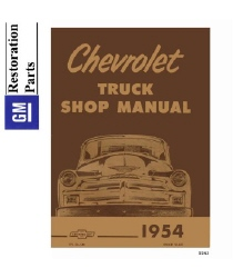 1954 Chevrolet Truck Full Line Factory Body, Chassis & Electrical Service Manual on CD-ROM