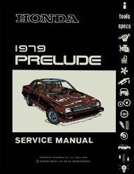 1979 Honda Prelude Factory Service Manual on CD-ROM