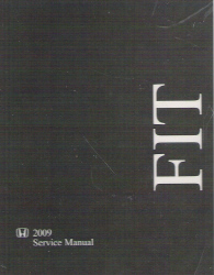 2009 Honda Fit Factory Service Manual on CD-ROM