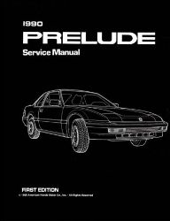 1990 Honda Prelude Factory Service Manual on CD-ROM